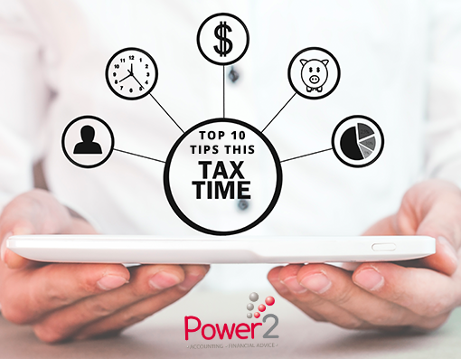 Top 10 tips this tax time