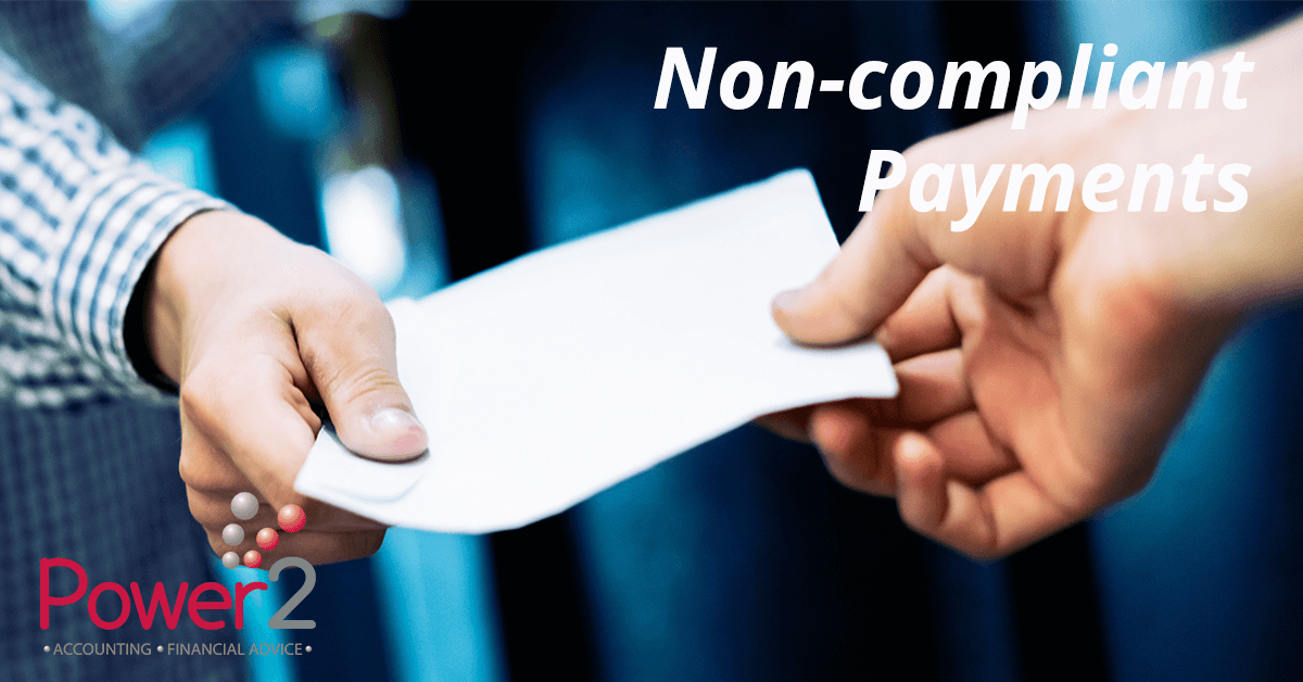 Non-compliant payments